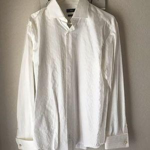 Boss by Hugo Boss White Italian Dress Shirt US 42